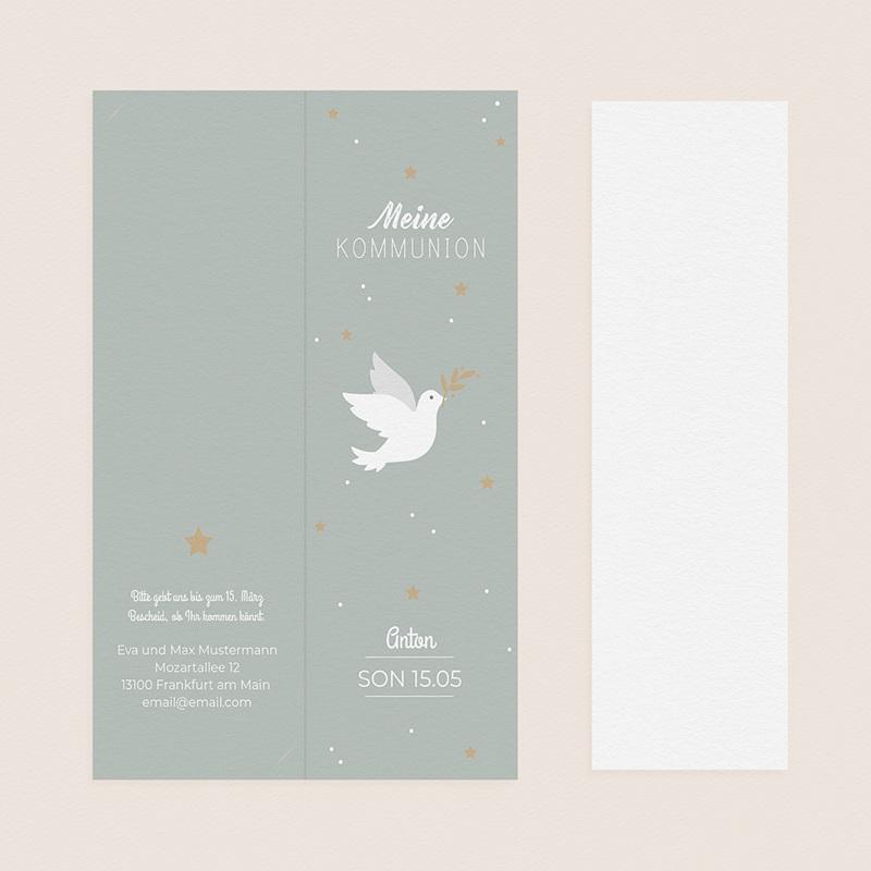 Einladungskarten Kommunion Jungen - Botschafter 58763 thumb