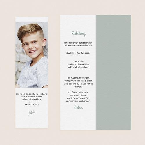 Einladungskarten Kommunion Jungen - Botschafter 58764 thumb