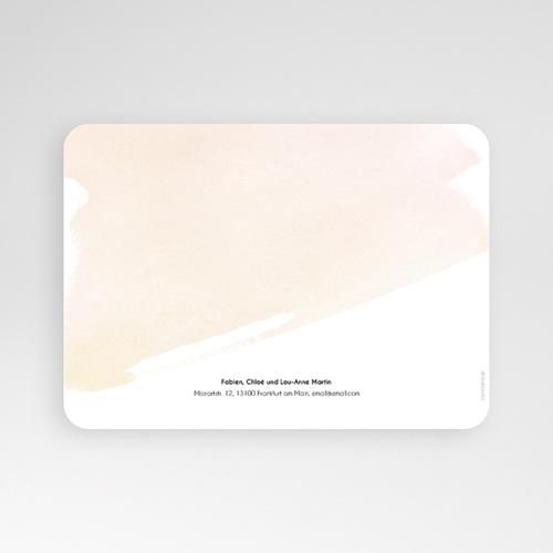 Einladungskarten Kommunion Mädchen - Watercolor Touch 58784 thumb