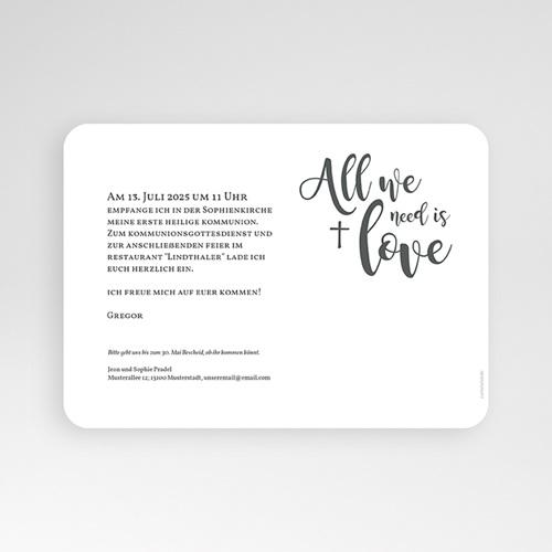 Einladungskarten Kommunion fur Jungen Love pas cher