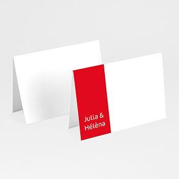 Tischkarten Hochzeit personalisiert - Leporello individuell personalisierbar - 1