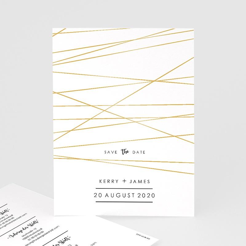 Save The Date Karten Hochzeit Minimal Chic