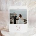 Elegante Dankeskarten Hochzeit Wildrose