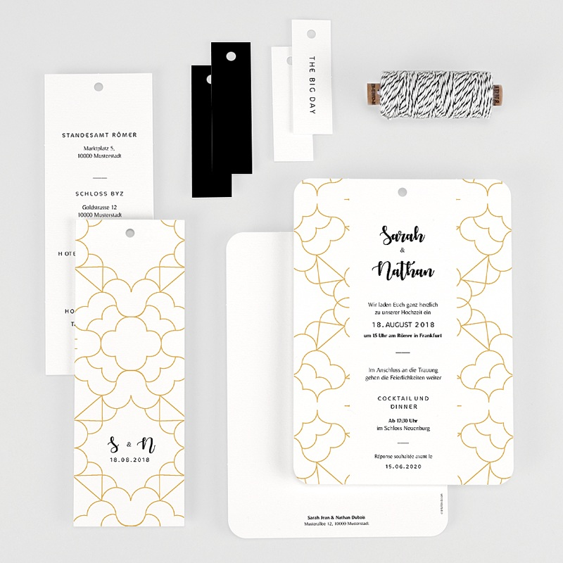 Hochzeitseinladungen Alhambra gratuit