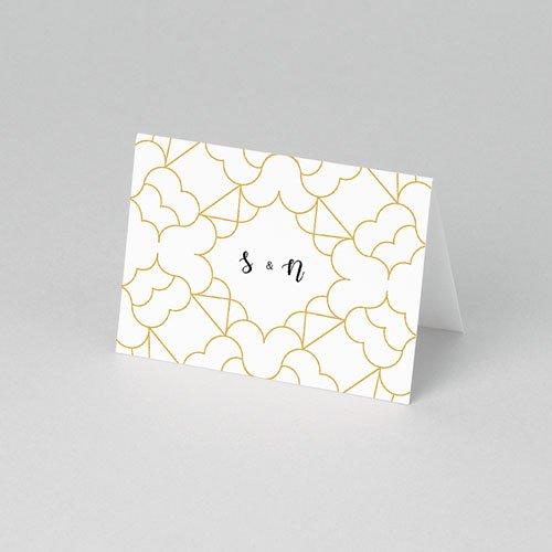 Tischkarten Hochzeit Alhambra pas cher