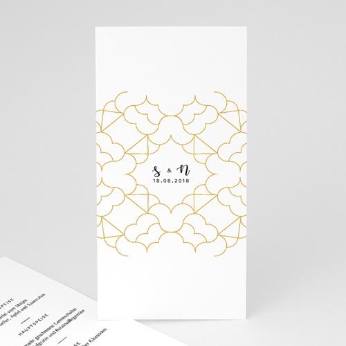 Menükarten Hochzeit Alhambra