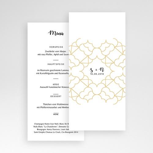 Menükarten Hochzeit Alhambra pas cher