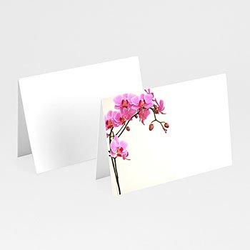 Tischkarten Hochzeit personalisiert - Orchidee - 1