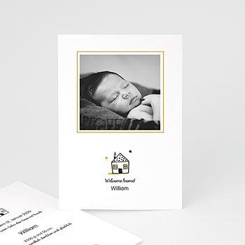 Geburtskarten für Jungen - Little Home - 0