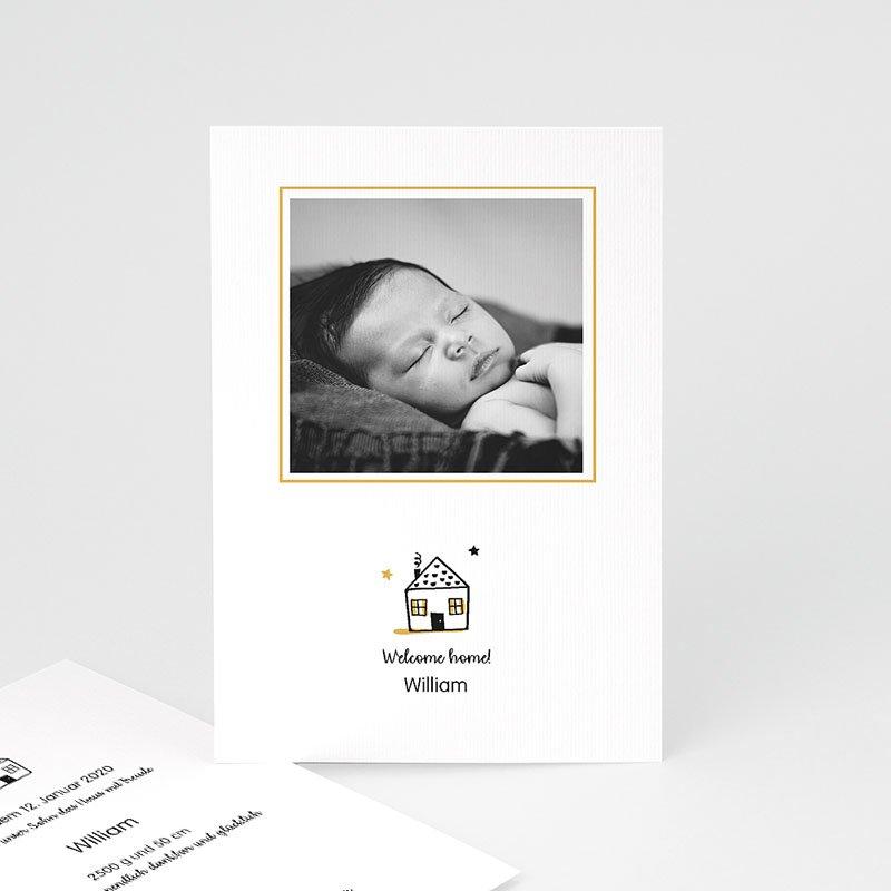 Geburtskarten für Jungen Little Home