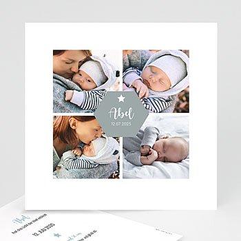Babykarten für Jungen - Vier Fotos - 0