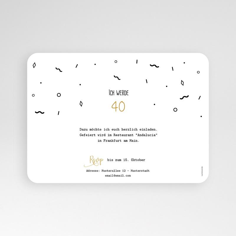 40 Jahre Alt Einladungskarten Geburtstag Geburtstagstorte pas cher