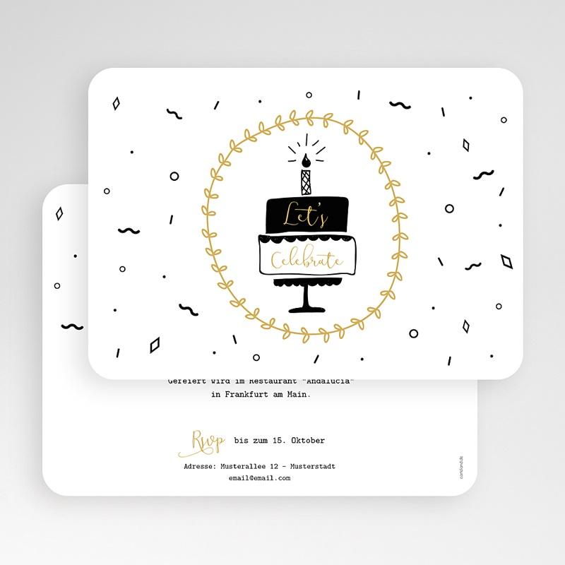 40 Jahre Alt Einladungskarten Geburtstag Geburtstagstorte gratuit