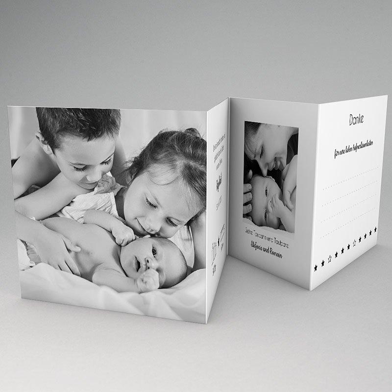 Geburtskarten für Jungen Goldstern gratuit