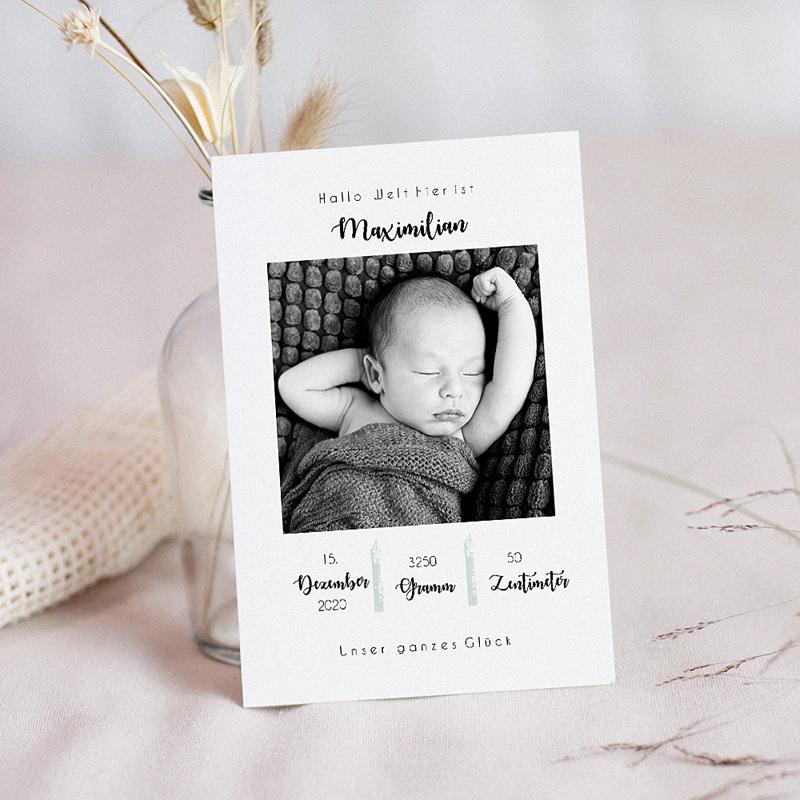 Geburtskarten für Jungen Simply Cute