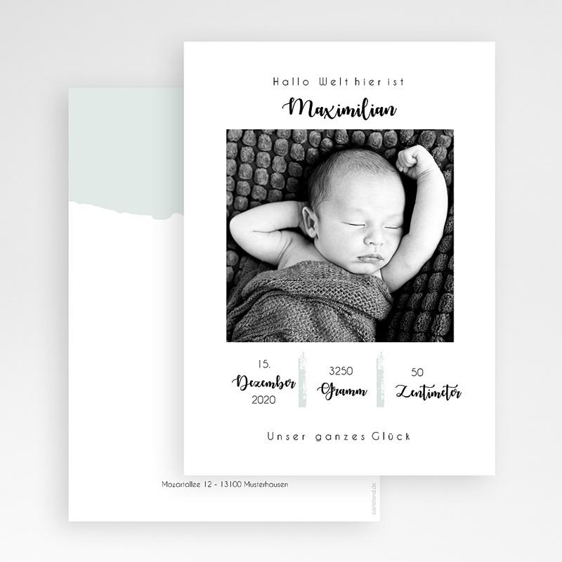 Geburtskarten für Jungen Simply Cute gratuit