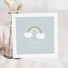 Einladungskarten Taufe Jungen  Rainbow