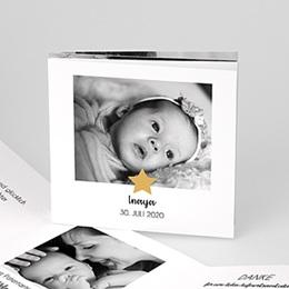 Geburtskarten für Mädchen Twinkle Star