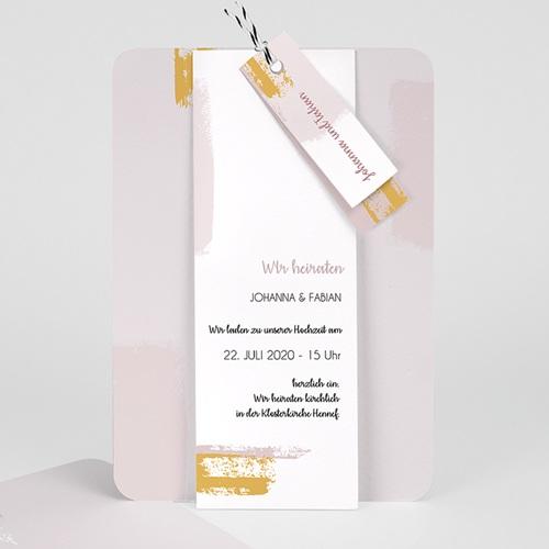 Kreative Hochzeitskarten Rose Quarz Carteland De