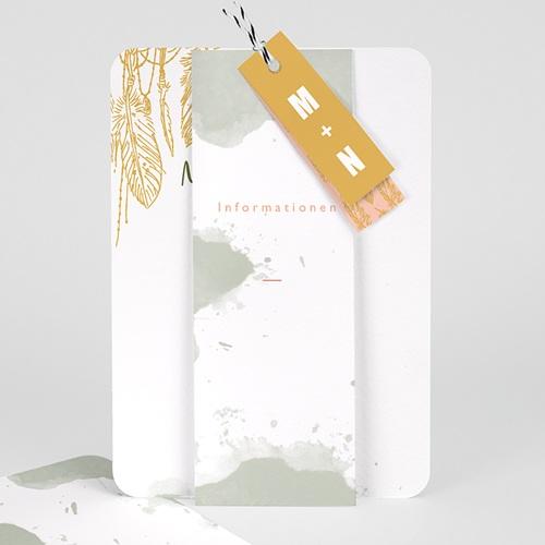 Kreative Hochzeitskarten Boho Natur Carteland De