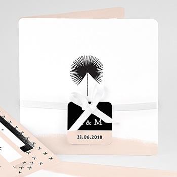 Kreative Hochzeitskarten - Palmenwedel Chic - 0