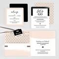 Hochzeitseinladungen Palmenwedel Chic gratuit
