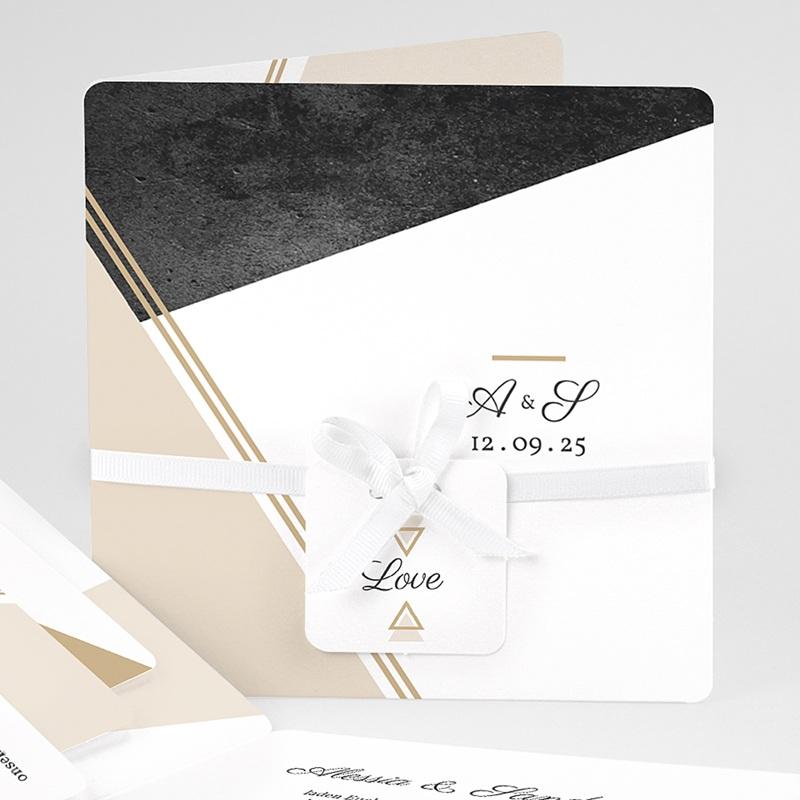 Einladungskarten Hochzeit  - Metropolitan 59434 thumb