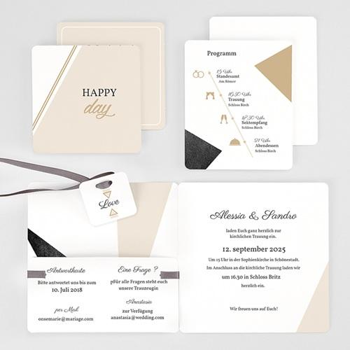 Einladungskarten Hochzeit  - Metropolitan 59436 thumb