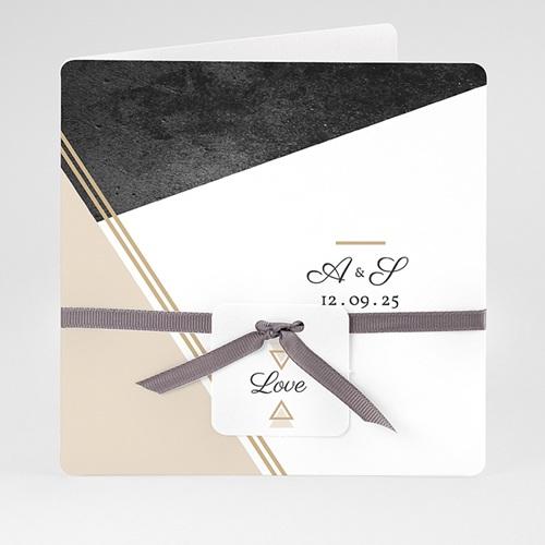 Einladungskarten Hochzeit  - Metropolitan 59437 thumb