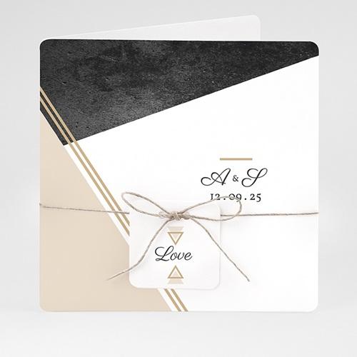 Einladungskarten Hochzeit  - Metropolitan 59438 thumb