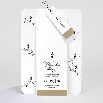 Einladungskarten Hochzeit  - Herbal Love - 0