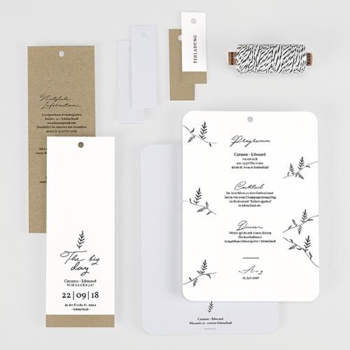 Hochzeitskarten Vintage  - Herbal Love 59574 thumb