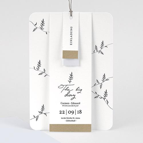 Hochzeitseinladungen Herbal Love