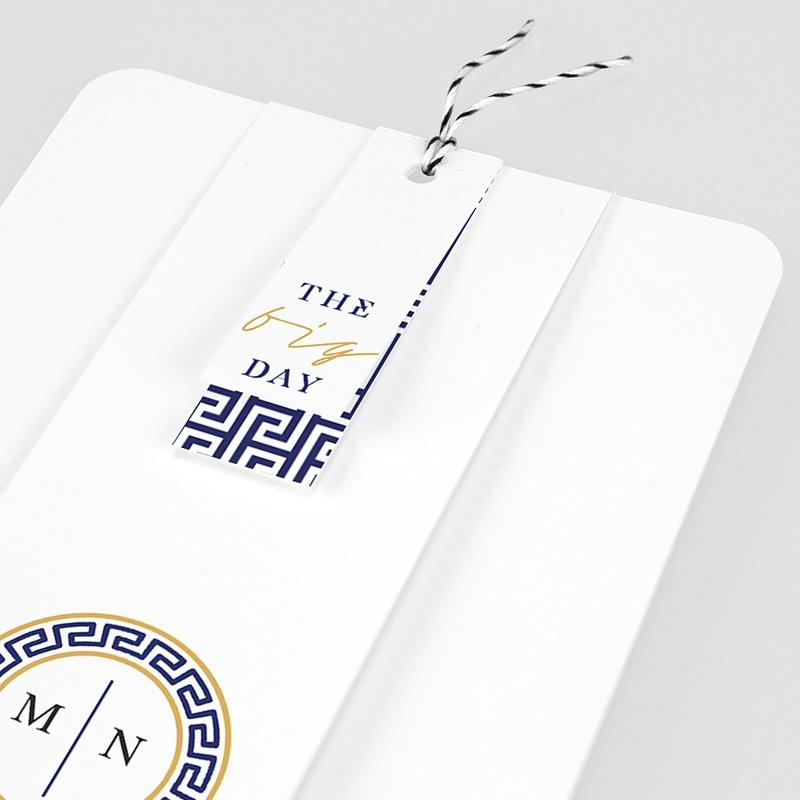 Orientalische Hochzeitskarten  - Griechisches Blau 59606 thumb