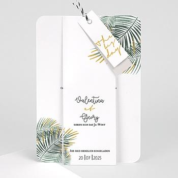 Kreative Hochzeitskarten - Palm Springs - 0