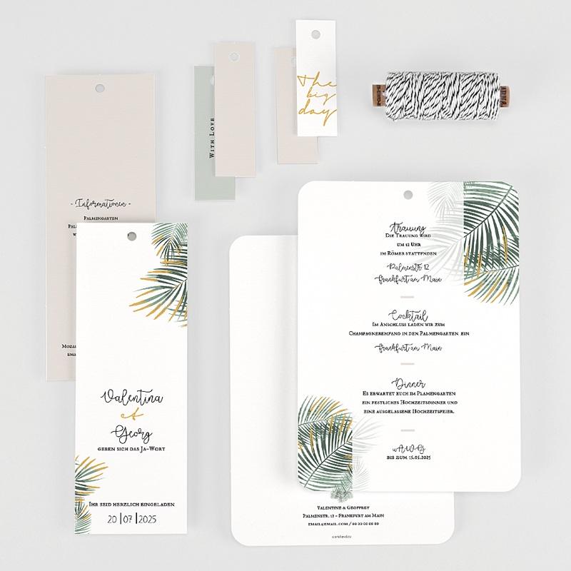 Hochzeitseinladungen Palm Springs gratuit