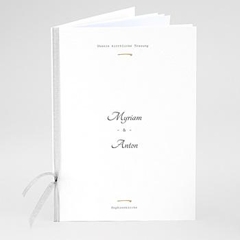 Kirchenheft zur Hochzeit individuell gestalten - Wildrose - 0