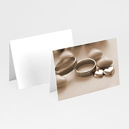 Tischkarten Hochzeit personalisiert - Der Klassiker - 1