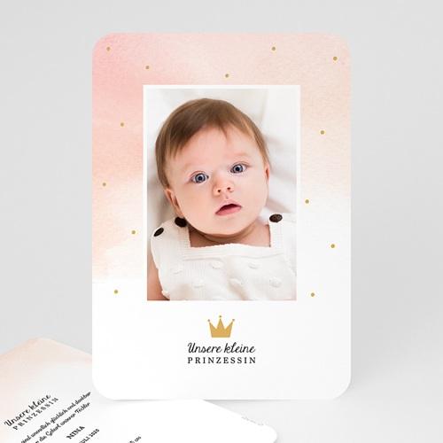 Geburtskarten für Mädchen Märchenhaft