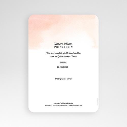 Geburtskarten für Mädchen Märchenhaft pas cher