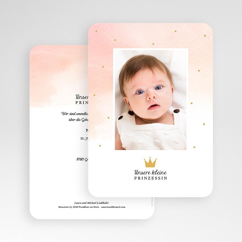 Geburtskarten für Mädchen Märchenhaft gratuit