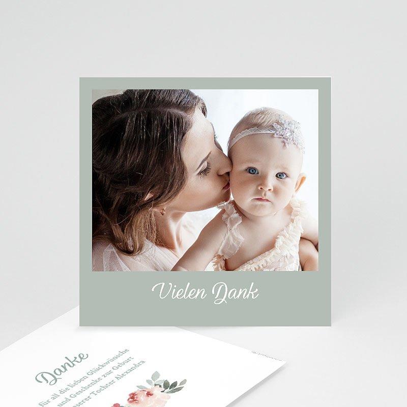 Dankeskarten Geburt Mädchen Little Princess