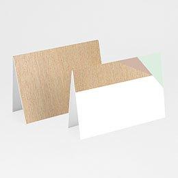 Tischkarten Hochzeit Holz & Pastell
