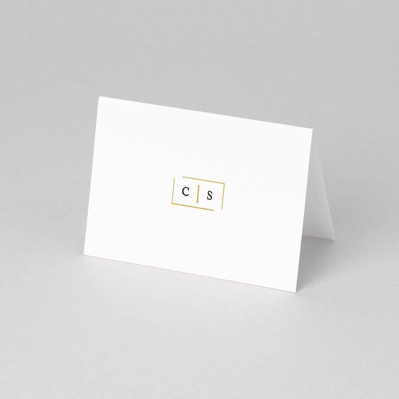 Tischkarten Hochzeit Goldzauber pas cher