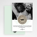 Dankeskarten Hochzeit mit Foto Time to Love gratuit