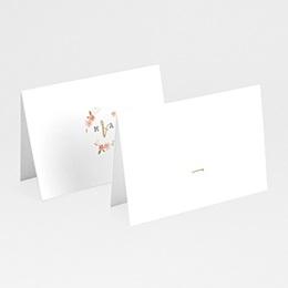 Tischkarten Hochzeit Wildrose