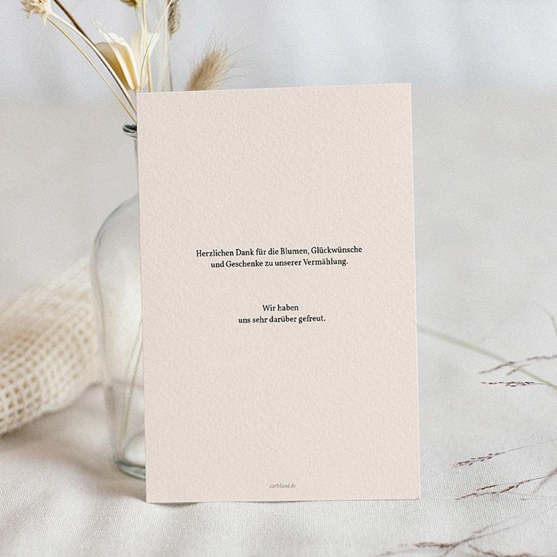 Stilvolle Danksagung Hochzeit - Dahlien 59902 thumb
