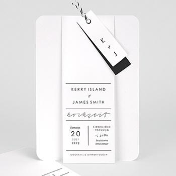 Elegante Hochzeitskarten  - Pure Love - 0