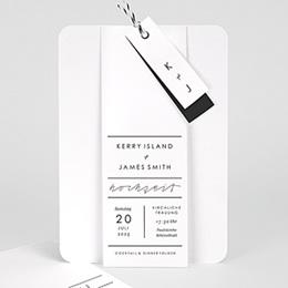 Elegante Hochzeitskarten  Pure Love