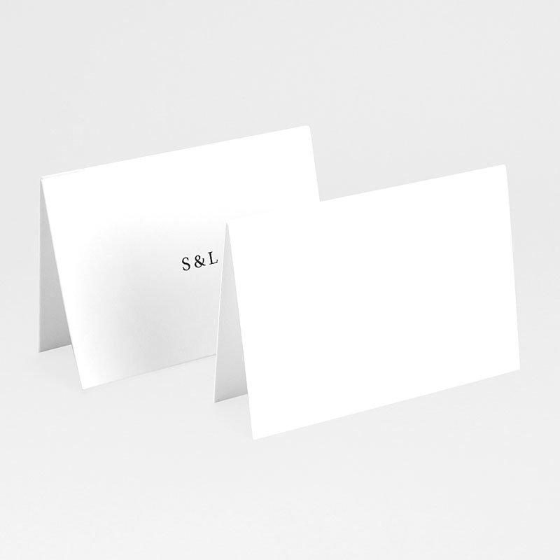 Tischkarten Hochzeit Typografisch und Form